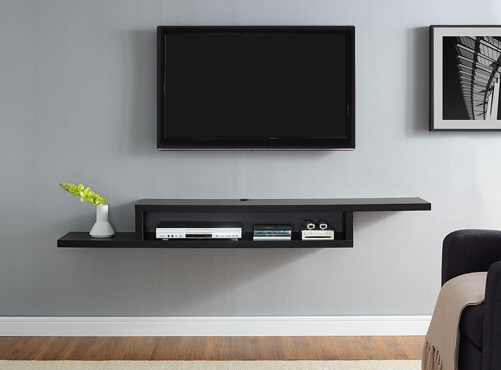 Mobile Tv Moderno Led : Modern tv stands entertainment centers allmodern