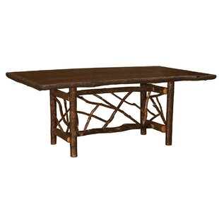 Hickory Twig Log Dining Table