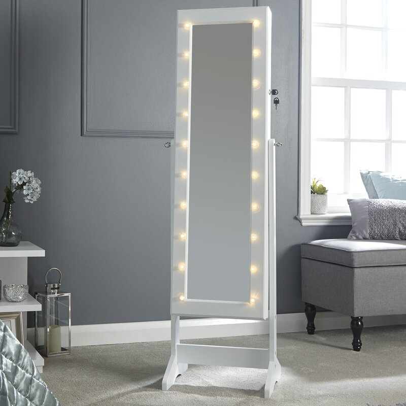 rosdorf park schmuckschrank mit spiegel bewertungen. Black Bedroom Furniture Sets. Home Design Ideas