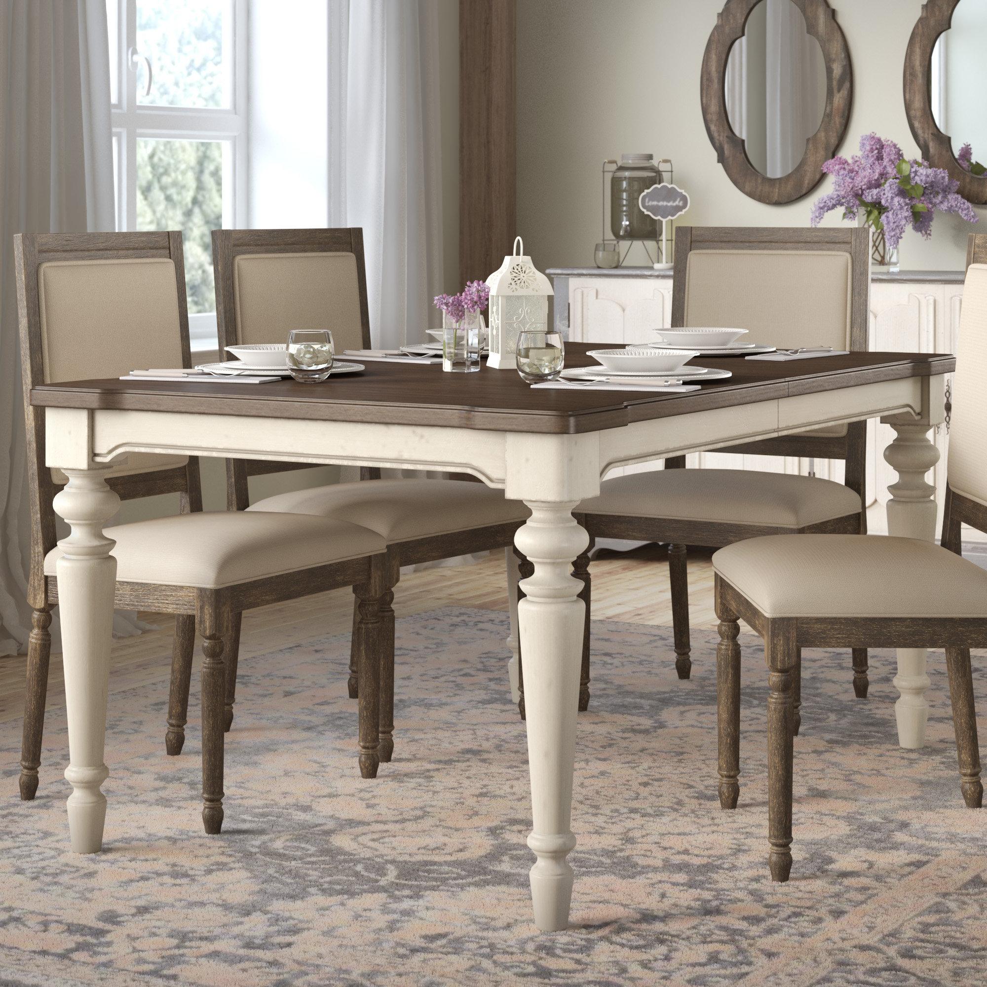 Lark Manor Ornithogale Extendable Dining Table Reviews Wayfair