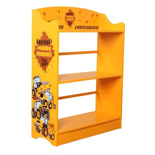 JCB Muddy Friends 80cm Bookcase by Kidsaw