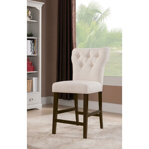 Meyersdale Counter Height Upholstered Dining Chair (Set of 2) by Darby Home Co