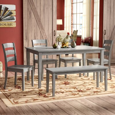 Dining Table With Chair And Bench Seats 6 Kitchen Amp Dining