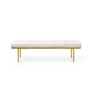 Lawncrest Upholstered Bench