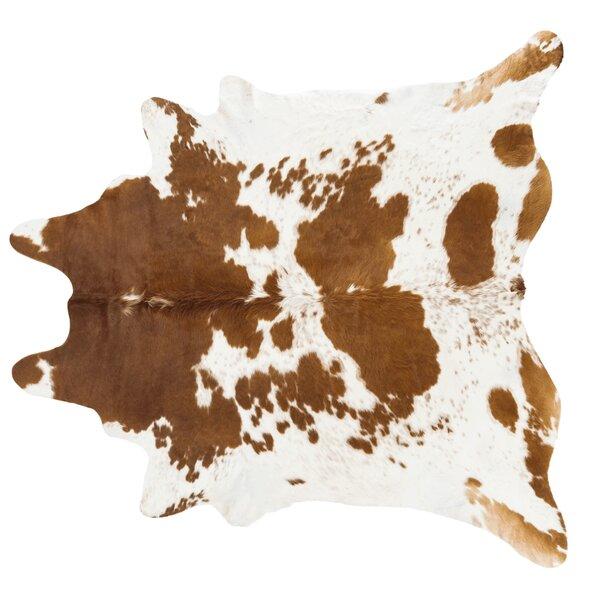 Animal Print Rug Wayfair: Pergamino Handmade Brown/White Area Rug & Reviews