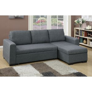 Bobkona Jassi Sleeper Sectional by Poundex