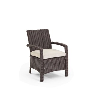 Aurora Traditional Patio Dining Chair With Cushions By Domus Ventures