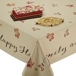 Farrah Leaves Print Tablecloth