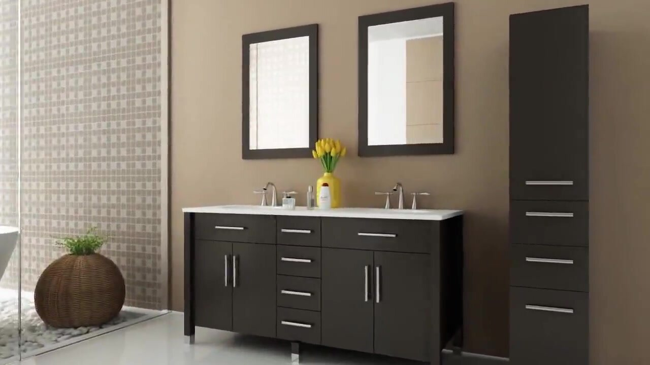allmodern single with pdp bath set karson bathroom logan mirror vanity wade reviews