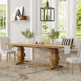 Camden Rise Solid Wood Extendable Dining Table