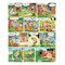 Asterix Aux Jo by Uderzo Graphic Art Wrapped on Canvas in Green