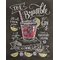 Classic Cocktails Crushed Ice Cocktail by Lily and Val Vintage Advertisement