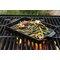 Flame-Friendly™ Ceramic barbecuing Pan