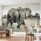 Elephant 2.48m x 368cm Wallpaper Roll