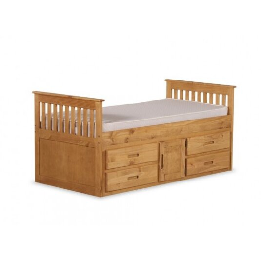 Just Kids Captain Single Bed Frame with Storage Reviews