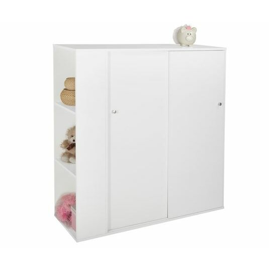 South Shore Storit Kids Storage Cabinet With Sliding Doors & Reviews