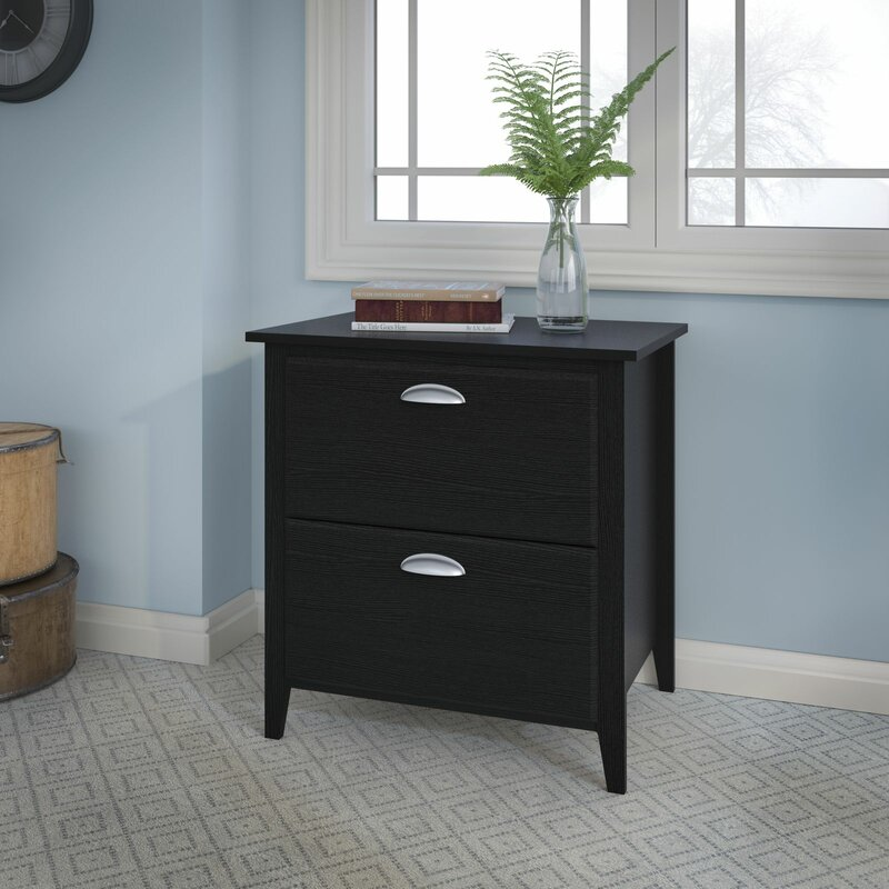 Kathy Ireland Office by Bush Connecticut 2-Drawer Lateral Filing ...