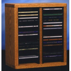200 Series 40 CD Multimedia Tabletop Storage..