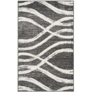 Mckenna Charcoal/Ivory Rug by Orren Ellis