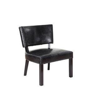 Crocodile Print Slipper Chair by Powell Furn..