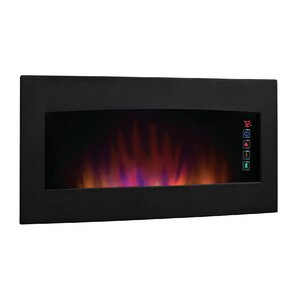 Serendipity Wall Mount Electric Fireplace by..