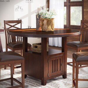 Cometa Counter Height Dining Table by Loon Peak