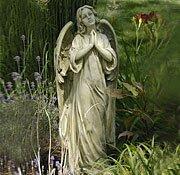 Charming Praying Angel Garden Statue