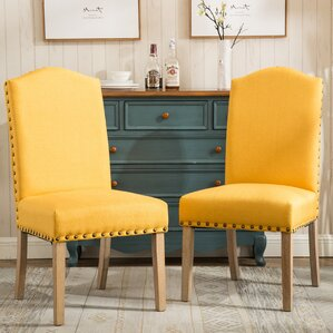 Yellow Kitchen & Dining Chairs You\'ll Love | Wayfair
