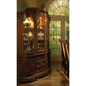 Cortina Lighted China Cabinet by Michael Amini (AICO)