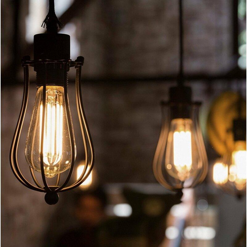 St64 Led Dimmable Light Bulb Warm White 2700k E26 Base