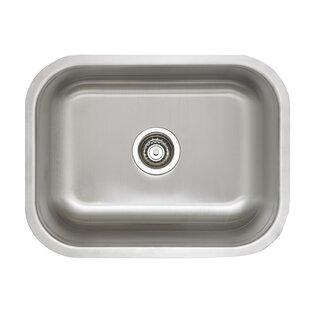 Stellar 23 L X 17 75 W Laundry Undermount Kitchen Sink