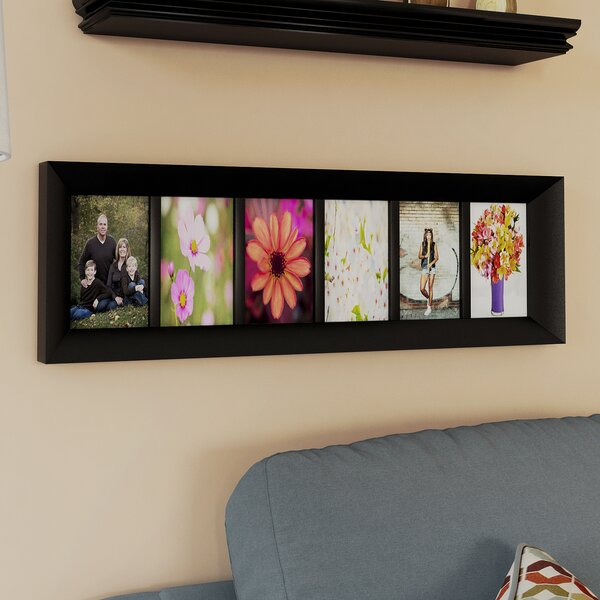 6 Opening 5x7 Picture Frame | Wayfair