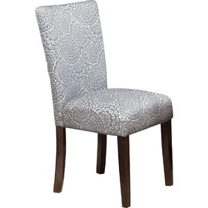 Feldman Upholstered Parsons Chair (Set..