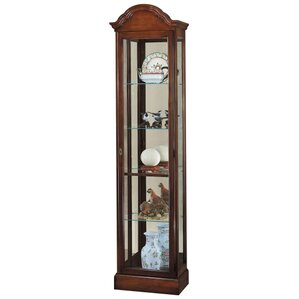 Gilmore Lighted Curio Cabinet by Howard M..