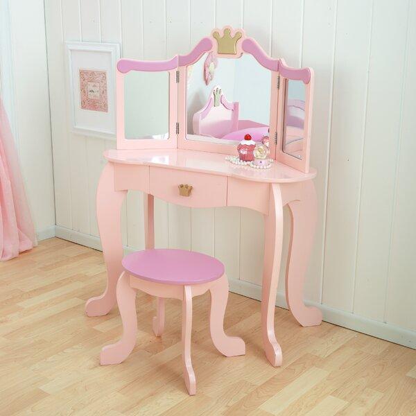 Princess Vanity Chair | Wayfair