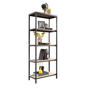 Modern Contemporary Tall Slim Bookcase