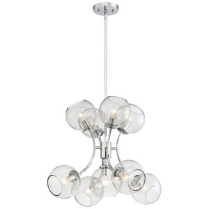 Myrine 9-Light Shaded Chandelier