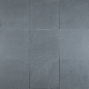 Montauk 16 X Natural Stone Field Tile In Blue
