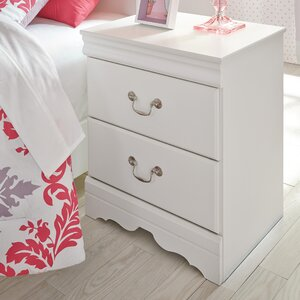 Kurt 2 Drawer Nightstand