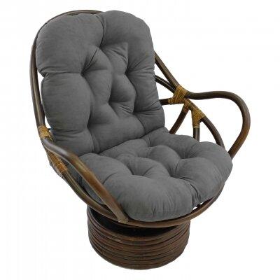 Pampasan Chair international caravan rattan swivel papasan chair & reviews | wayfair