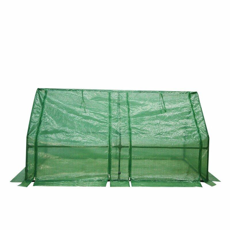 Abba Patio 6 Ft. W x 3 Ft. D Mini Greenhouse