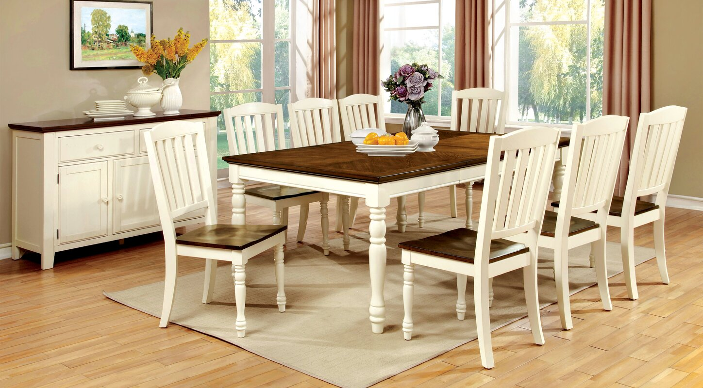 hokku designs laureus 9 piece dining set reviews wayfair 9 piece kitchen dining room sets sku kui10233