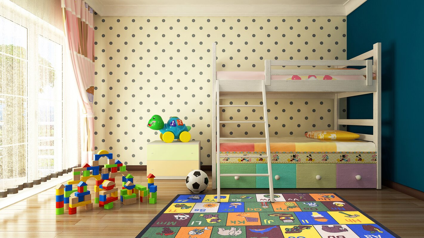 Babies Children S Educational Area Rug