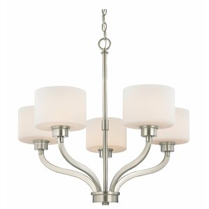 Kalina 5-Light Shaded Chandelier