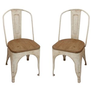Fortier Solid Wood Dining Chair (Set of 2)