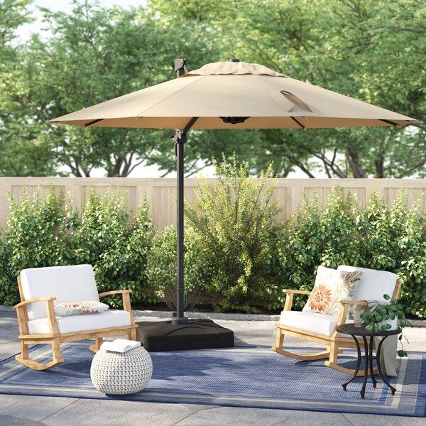 patio sets with umbrella wayfair rh wayfair com patio furniture with umbrella table patio furniture with umbrella clearance