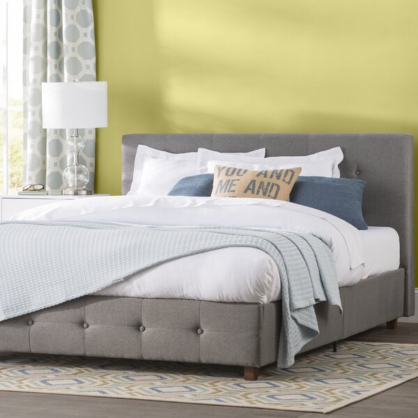Andover Mills Amherst Upholstered Platform Bed Amp Reviews