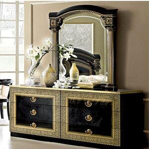 6 Drawer Dresser with Mirr..