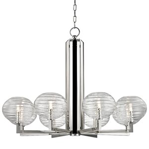 Rawley 8-Light LED Shaded Chandelier