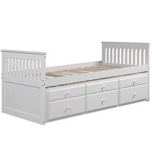 tillie twin storage platform bed